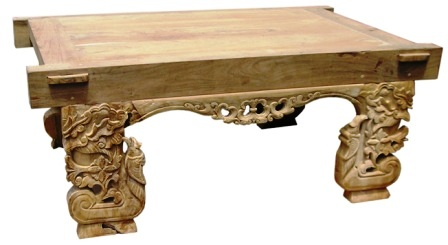 COFFEE TABLE CARVING (096)