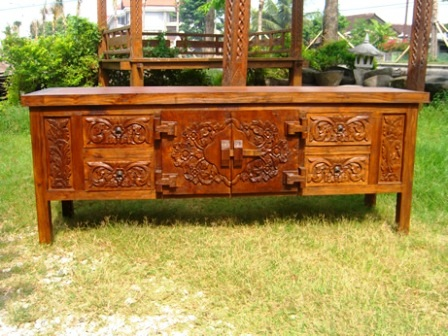 BUFFET CARVING 2 DR 4 DRW