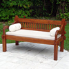 STRAIGHT BACK DAYBED/BENCH